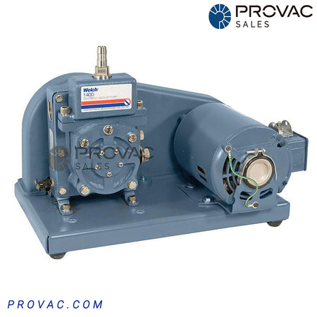 Welch 1400 DuoSeal Belt Drive Pump Image 1