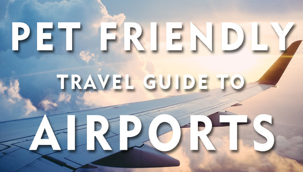 THE PET FRIENDLY TRAVEL GUIDE - AIRPORTS