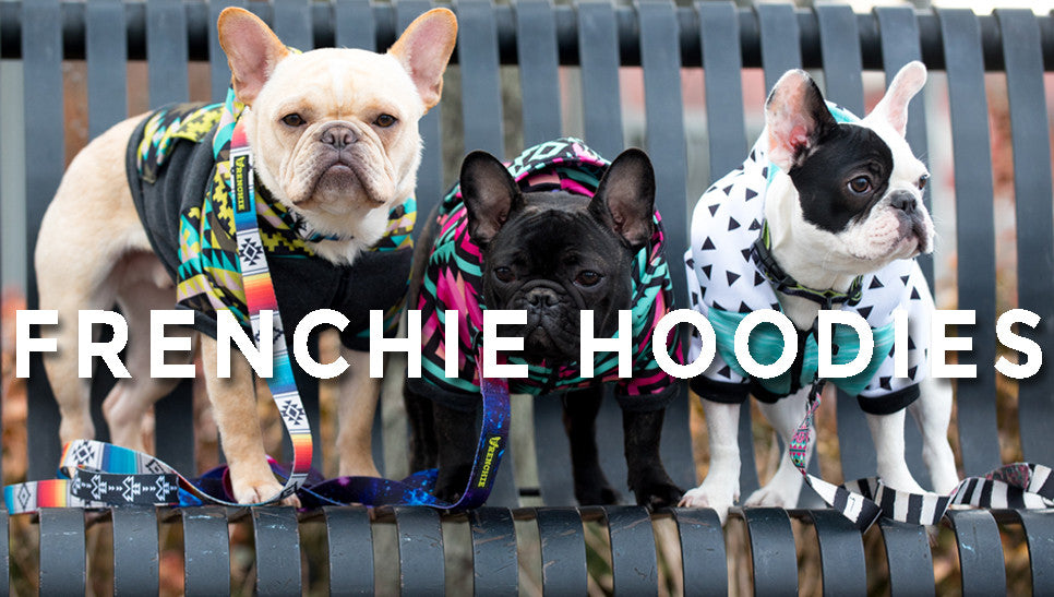 Frenchie Hoodies!