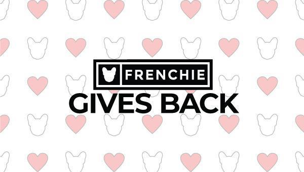 Frenchie Gives Back: Two Hands Four Paws