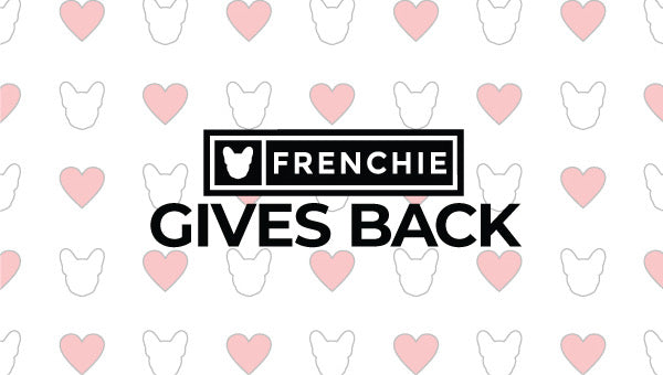 Frenchie Gives Back: Humane Animal Welfare Society