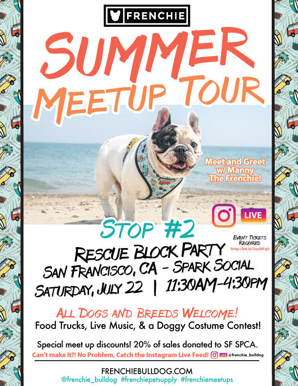 Frenchie Meet Up - San Francisco - Video