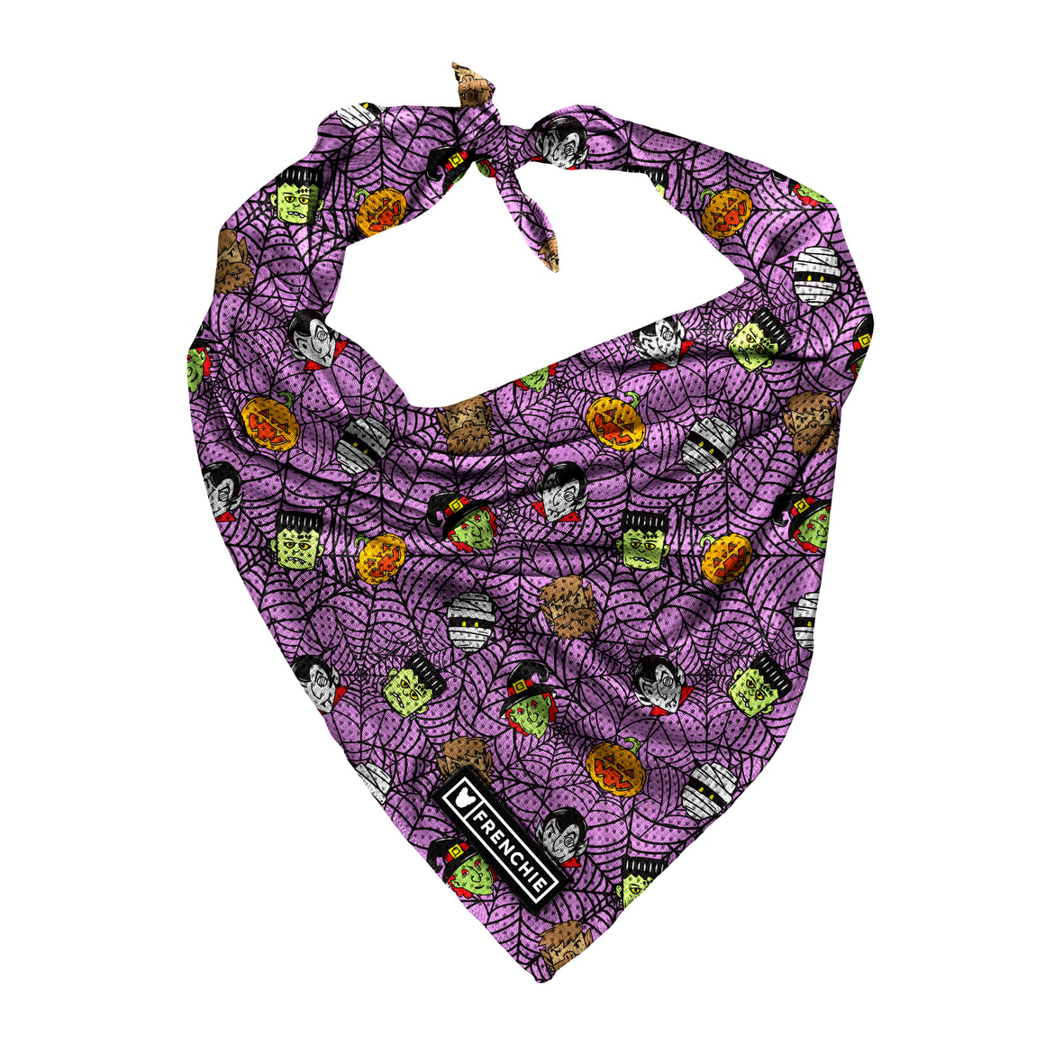 Frenchie Cooling Bandana - Creepin It Real