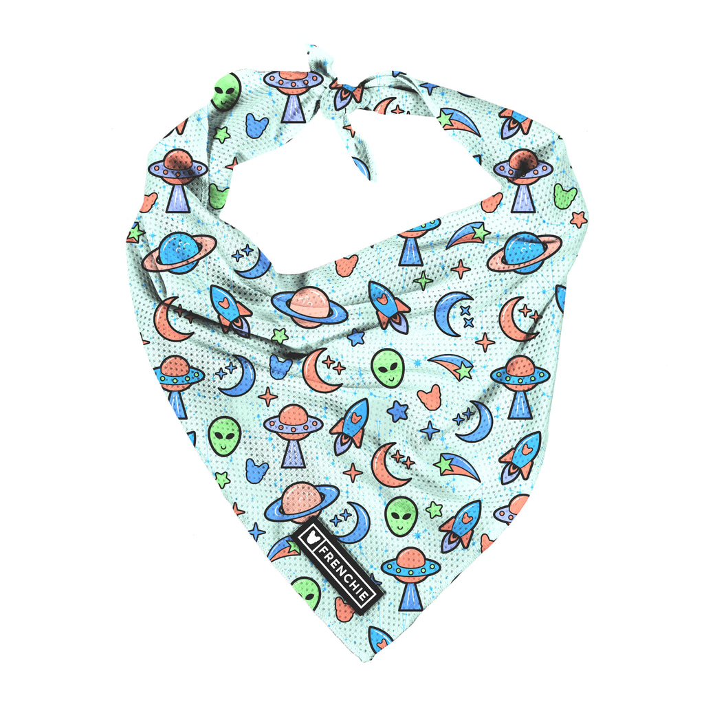 Frenchie Cooling Bandana - Out of This World