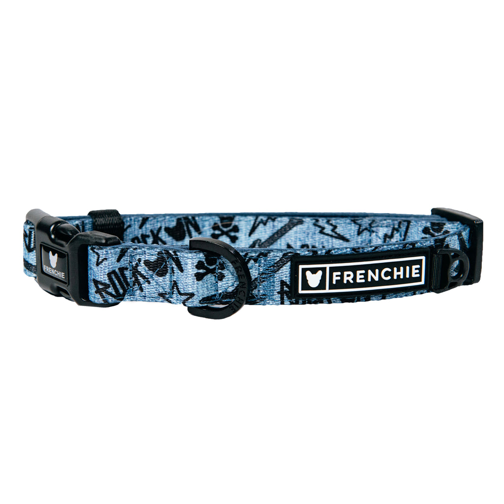 Frenchie Comfort Collar - Rockstar