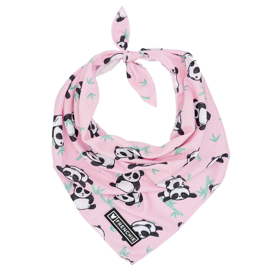 Frenchie Cooling Bandana - Panda - Frenchie Bulldog - Shop Harnesses for French Bulldogs - Shop French Bulldog Harness - Harnesses for Pugs