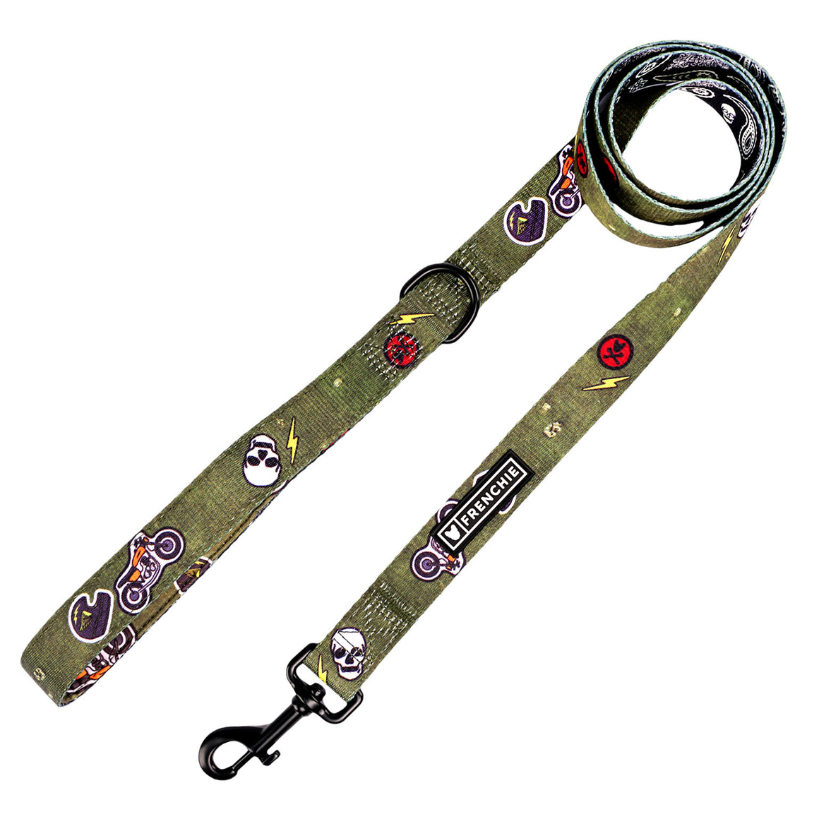 Frenchie Comfort Leash - Ruff Rider - Frenchie Bulldog - Shop Harnesses for French Bulldogs - Shop French Bulldog Harness - Harnesses for Pugs
