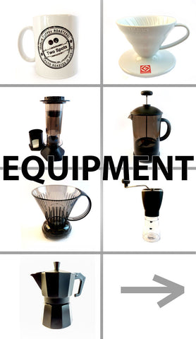 Equipment by Two Spots Coffee