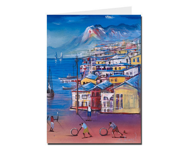 'Cite Soleil' - L Greeting Card