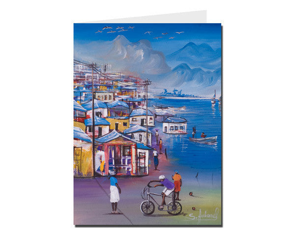 'Cite Soleil' - R Greeting Card