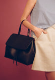 Black/Flamma Lady Bag