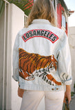 Los Angeles Tiger Embroidered Jacket