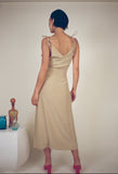 Ophelia Dress Champagne