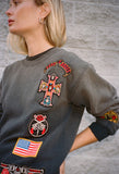 MadeWorn Guns N Roses Patch Sweatshirt / Shop Super Street - 2
