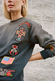 MadeWorn Guns N Roses Patch Sweatshirt / Shop Super Street - 3