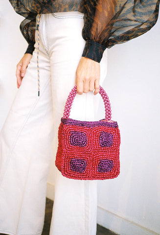 Lezat Bag Pink/Purple