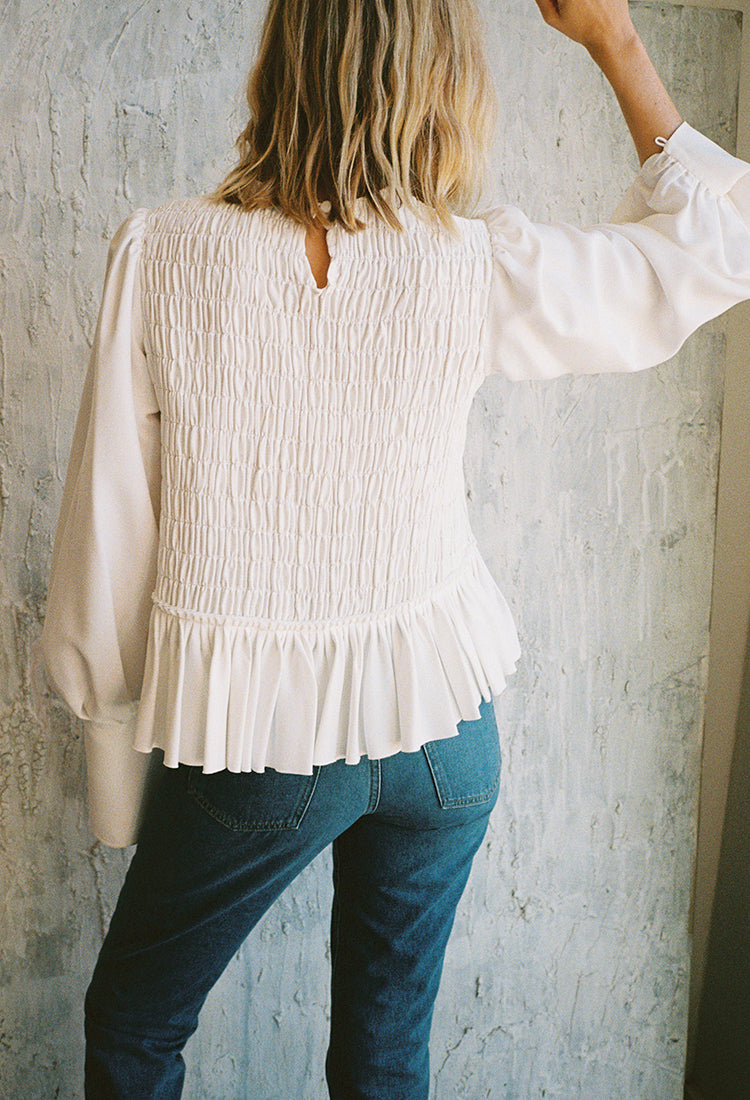 Annette Top Ivory