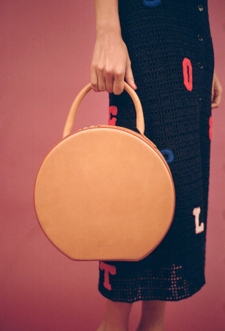 Mansur Gavriel Camello Circle Bag / Shop Super Street - 1