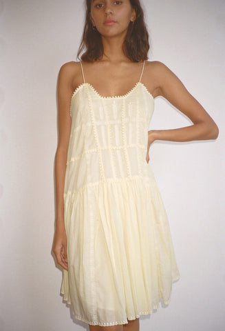 Amelie Dress Light Yellow