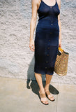 Jasmine Knit Skirt Navy