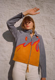 Suede Flame Jacket