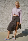 Uniform Polka Dot Skirt