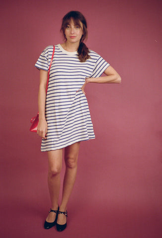 The Boxy Mini Dress