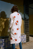 Rose Embroidered Coat