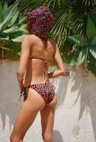 Chilli Peppers String Bikini