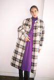 Gabrion Plaid Wool Coat