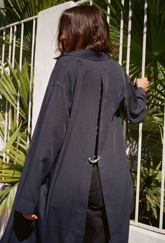 Slit Back Duster