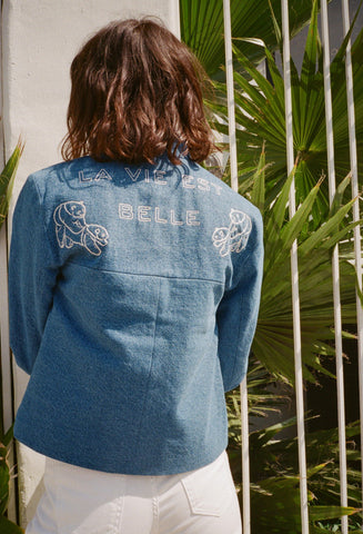 Theo Embroidered Jacket