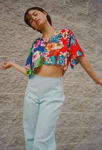 Athena Hawaiian Top