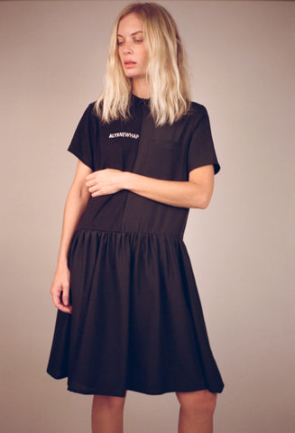 Split Collar Dress