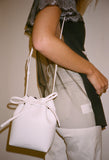 Mini Mini Bucket Bag White/Blu