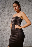 Blix Tube Dress Black
