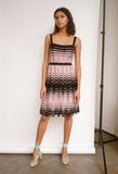Knit Lurex Tank Dress