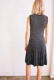 Sleeveless Dress Black/White