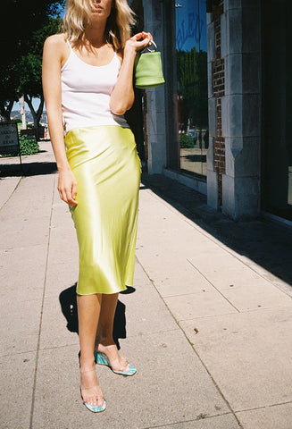 Slip Skirt Honeydew