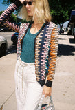 Knit Cardigan Brick