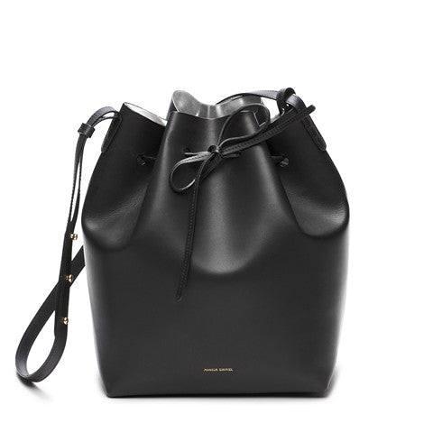Mansur Gavriel Black/Argento Bucket Bag / Shop Super Street - 1