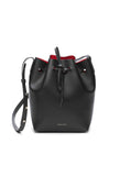Mansur Gavriel Black/Flamma Bucket Bag / Shop Super Street - 1