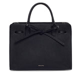 Mansur Gavriel Black Tumble Sun Bag / Shop Super Street - 3