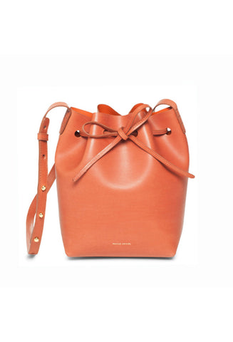 Mansur Gavriel Brandy/Brick Mini Bucket Bag / Shop Super Street - 1