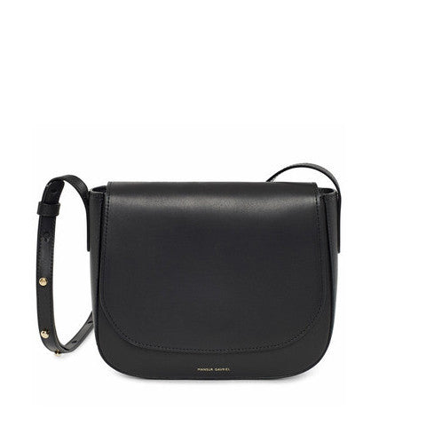 Mansur Gavriel Black Crossbody Bag / Shop Super Street - 1