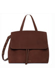 Mansur Gavriel Chocolate Suede Lady Bag / Shop Super Street - 1