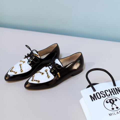 Moschino Chain Link Brogue / Shop Super Street - 1