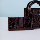 Opening Ceremony Croc Embossed Misha Wallet / Shop Super Street - 2