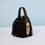 Moschino Small Fringe Bucket Bag / Shop Super Street - 2