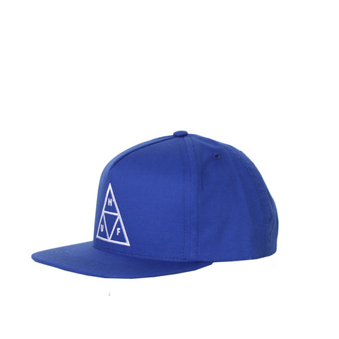 HUF Triple Triangle Blue Snapback / Shop Super Street